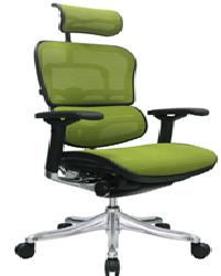 كرسي عالي هيدروليك ضهر ماش قاعدة جلد نجمه الومنيوم